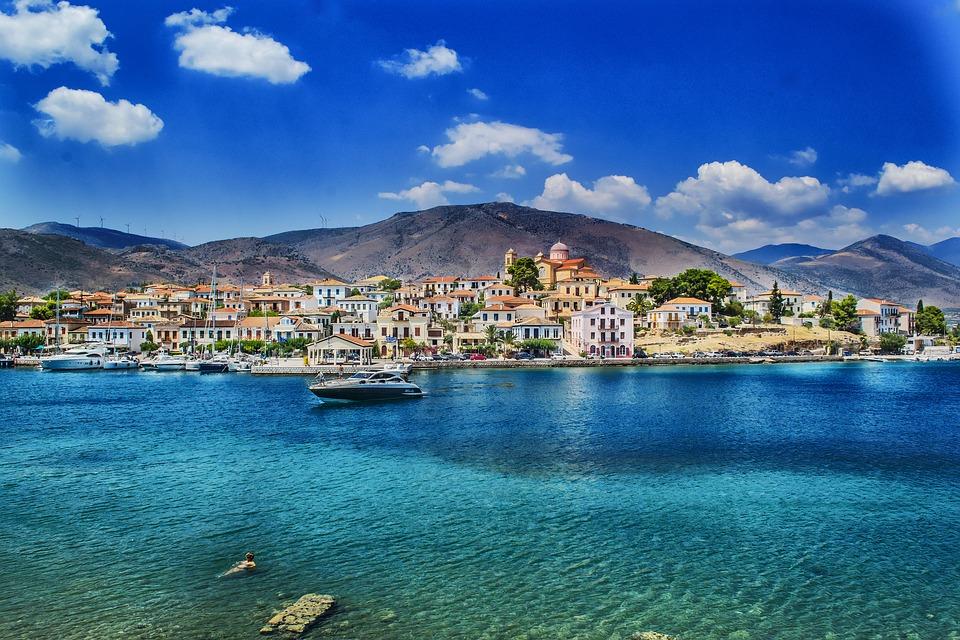 Crucero en velero por Grecia, Islas Sarónicas.