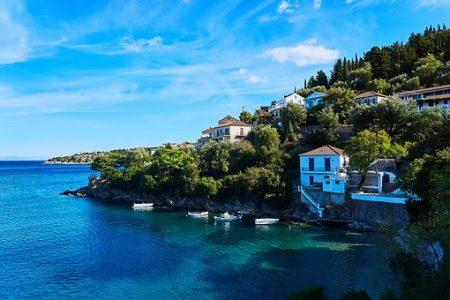 Grecia en velero . Islas Jónicas