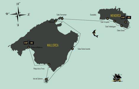 UNA SEMANA EN VELERO POR BALEARES / Mallorca – Mahón .