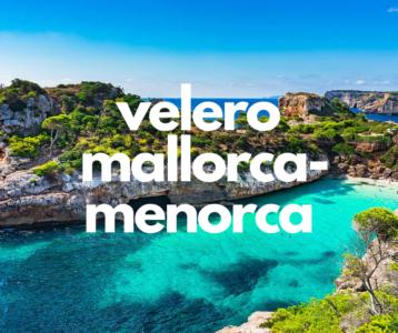 VIAJE EN VELERO MALLORA-MENORCA