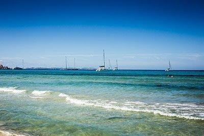 Viaje en velero Mallorca-Menorca.