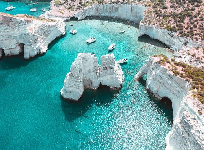 GRECIA EN VELERO 9 – 10 Días . Un lujo de vacaciones .